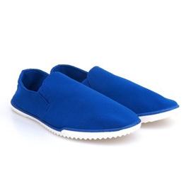 Adidași de pantofi Lycra 8527 Albastru
