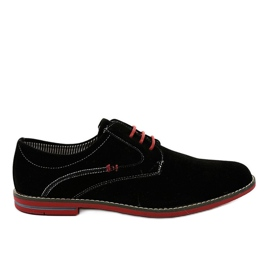 Negru Pantofi eleganti negri 6-688