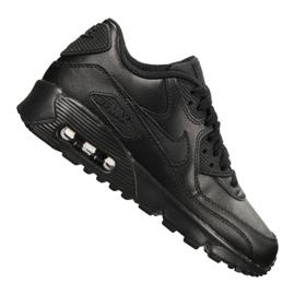 Negru Pantofi Nike Air Max 90 Ltr Gs Jr 833412-001