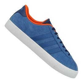 Albastru Pantofi Adidas Vl Court Vulc M AW3963