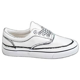 Bestelle Pantofi de modă alb