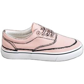 Bestelle Pantofi de modă roz