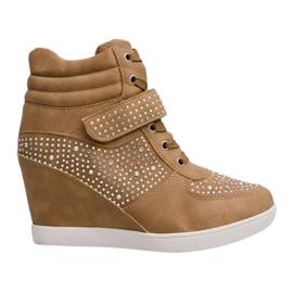 Sneakers Wedges Sneakers 3188 Kaki