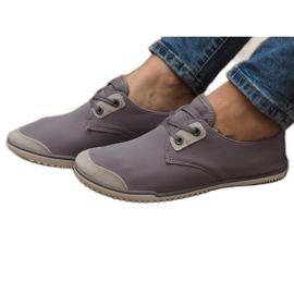 Pantofi dantela Lycra 1603 gri
