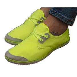 Pantofi dantela Lycra 1603 Galben