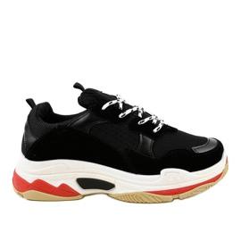 Negru Pantofi sport negri la modă LL1710