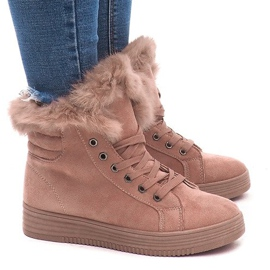 Sneakers izolate AB-14 roz