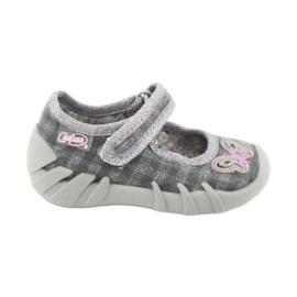 Încălțăminte pentru copii Befado 109P189 roz gri