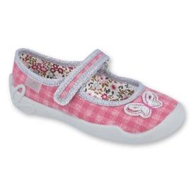 Încălțăminte pentru copii Befado 114X363 roz gri