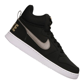 Negru Pantofi Nike Court Borough Mid M 838938-005
