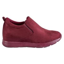 Sport Slip-on Shoes pentru femei roșu