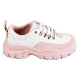 SHELOVET roz Pantofi sport plictisiți