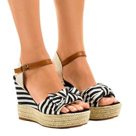 Margele sandale încastrează espadrilele Blue Sea