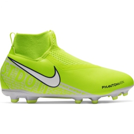 Pantofi de fotbal Nike Phantom Vsn Academy Df FG / MG Jr AO3287-717