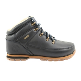 American Club Pantofi cu dantelă ES39 bleumarin