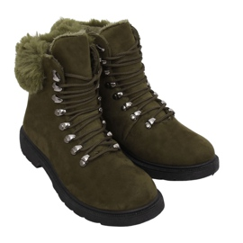 Încălțăminte de capcaz pentru femei Y260-9 Verde