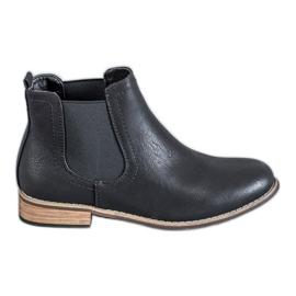 SDS negru Black cizme Jodhpur
