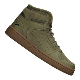 Pantofi Puma Rebound LayUp Sd Fur M 369831-03 verde