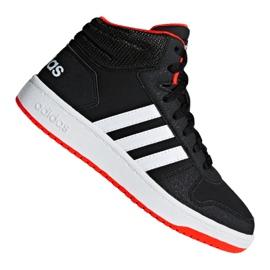 Negru Pantofi Adidas Hoops Mid 2.0 K Jr B75743