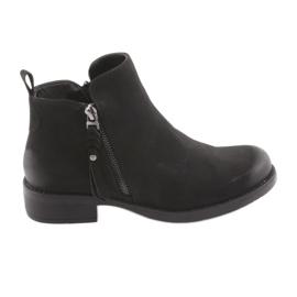 Cizme negre Sergio Leone 554 negru