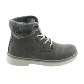 American Club Pantofi cu dantelă RH47, gri