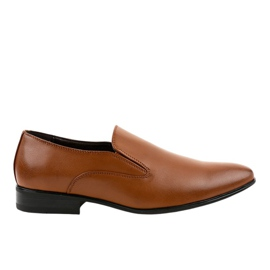 Mocasini elegante brune 6-317 maro
