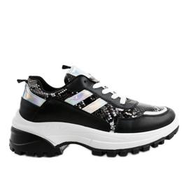 Pantofi sport negri eleganti 690051 negru