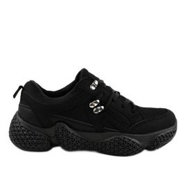 Pantofi sport negru la modă pentru femei BD-5