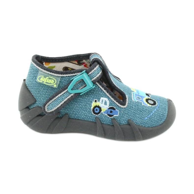 Încălțăminte pentru copii Befado 110P355 multicolor albastru gri