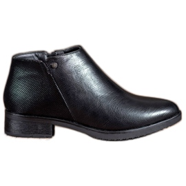 Daszyński Boots On Flat Heel negru