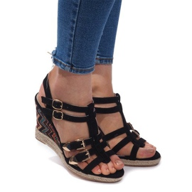 Sandale de mireasa 5H5671 Negru