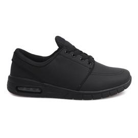 Negru 7765-1 Pantofi sport de alergare negri