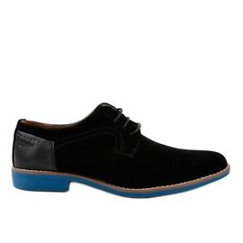 Pantofi eleganti negri H-32 negru