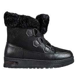 Cizme de zăpadă caldă de la MCKEYLOR negru