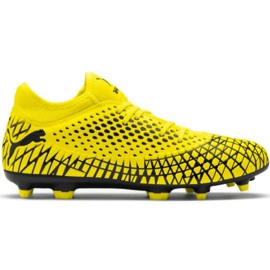 Puma Future 4.4 Fg Ag M 105613 03 pantofi de fotbal galben galben