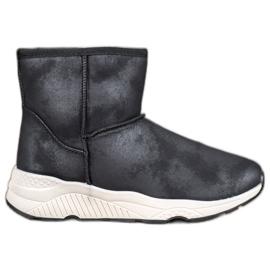 SHELOVET Cizme de zăpadă confortabile negru