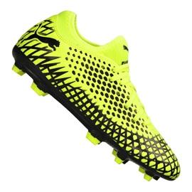 Cizme de fotbal Puma Future 4.4 Fg / Ag Jr 105696-03 galben galben