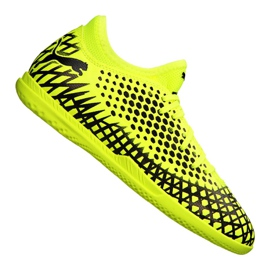 Cizme de fotbal Puma Future 4.4 It Jr 105700-03 galben galben