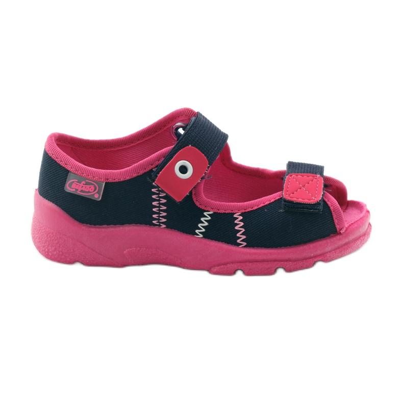 Încălțăminte pentru copii Befado 969Y105 albastru marin roz