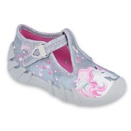 Încălțăminte pentru copii Befado 110P363 roz gri