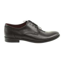 Pantofi din piele Pilpol 1609 negru