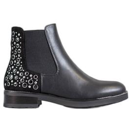 Filippo Black Boots pentru femei negru
