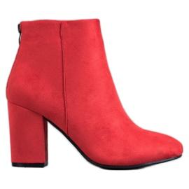 Cizme sexy VINCEZA roșu