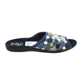 Papuci flip flops 3D Adanex bleumarin