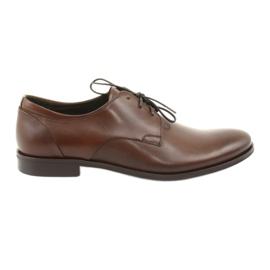 Pantofi din piele Pilpol 1609 maro