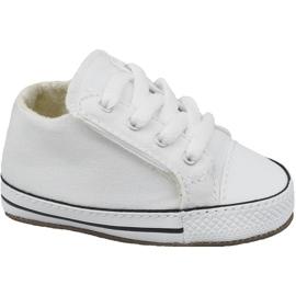 Pantofi Converse Chuck Taylor All Star Cribster Jr 865157C alb