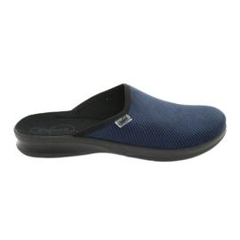 Pantofi pentru bărbați Befado pu 548M019 bleumarin