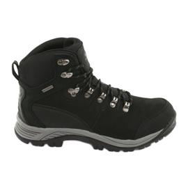 Pantofi trekking negri Atletico 66176 negru