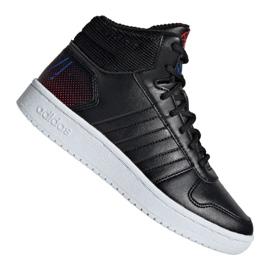 Pantofi Adidas Hoops Mid 2.0 Jr EE8547 negru