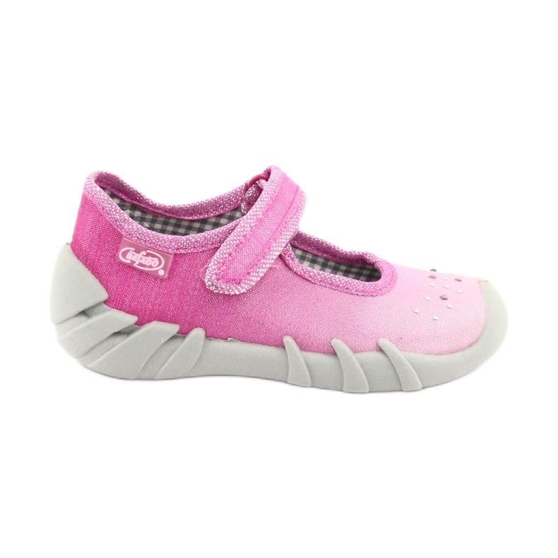 Încălțăminte pentru copii Befado 109P195 roz gri